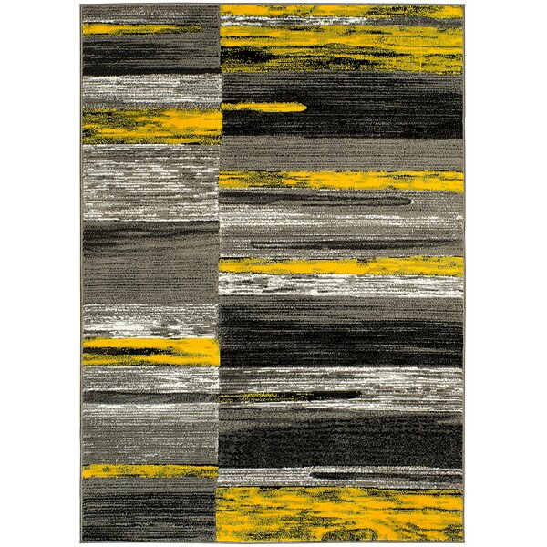Yellow Area Rug by Brady Home