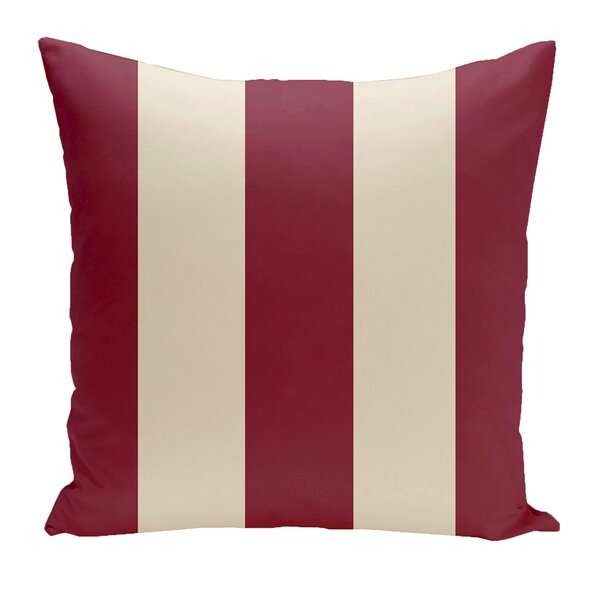 Drennen Striped Throw Pillow by Charlton Home