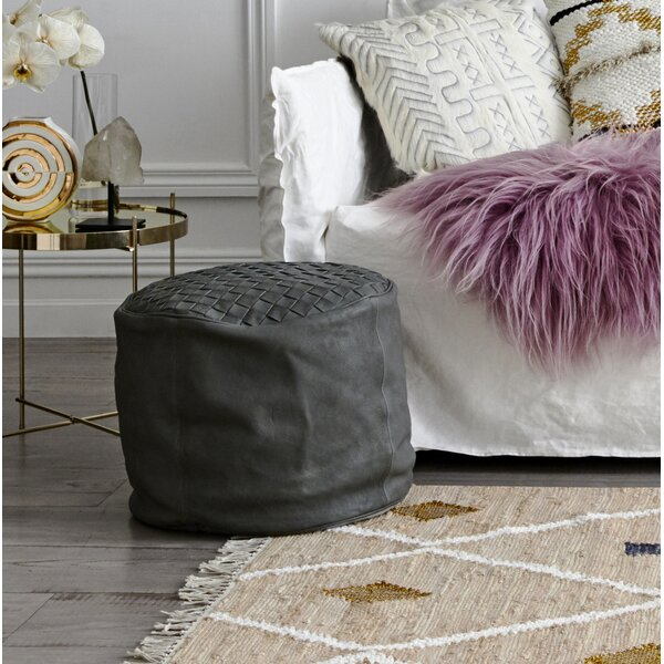 Kingsley Pouf Ottoman By Ivy Bronx Wonderful