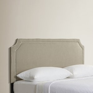 Forest Park King Upholstered Panel Headboard by House of Hampton