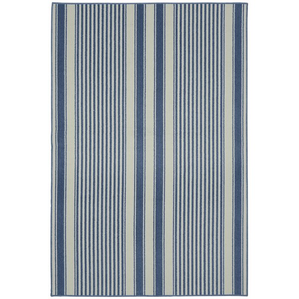Cape Cod Sky Blue Area Rug by Garland Rug
