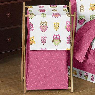 Happy Owl Laundry Hamper by Sweet Jojo Designs