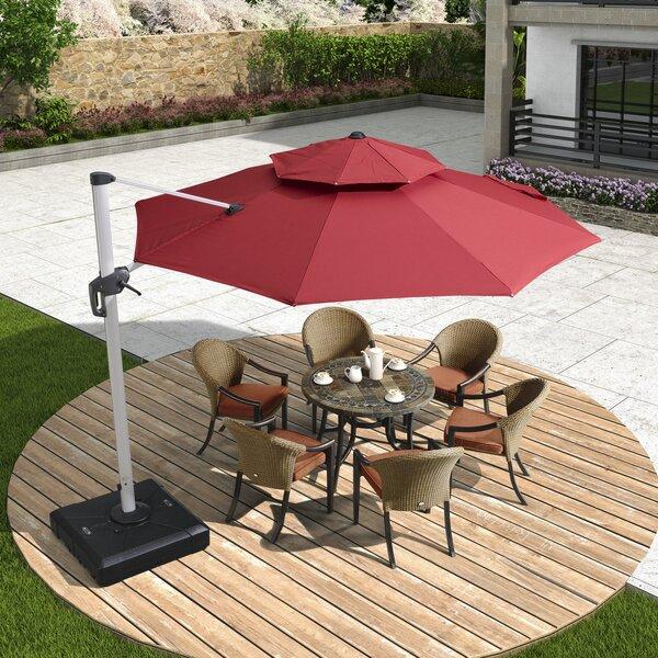 Burgue 13' Cantilever Umbrella by Latitude Run