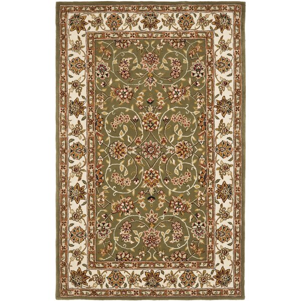 Traditions Sage/Ivory Area Rug by Safavieh