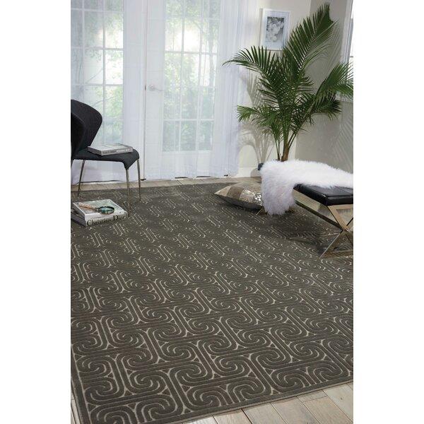 Interlock Dark Gray Indoor Area Rug by Kelly Ripa Home