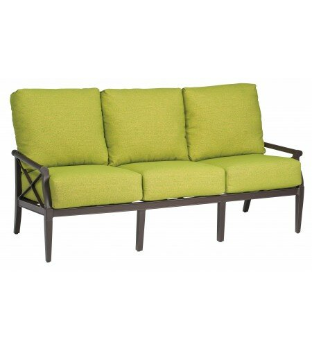 Andover Patio Sofa with Cushions by Woodard