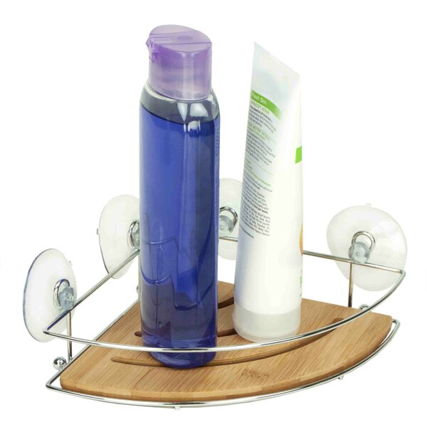 Bamboo Corner Shower Caddy by Home Basics