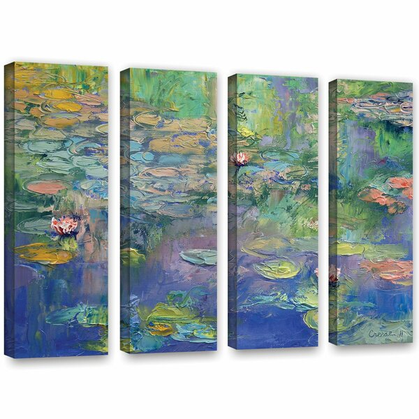 Water by Michael Creese 4 Piece Painting Print on Wrapped Canvas Set by ArtWall
