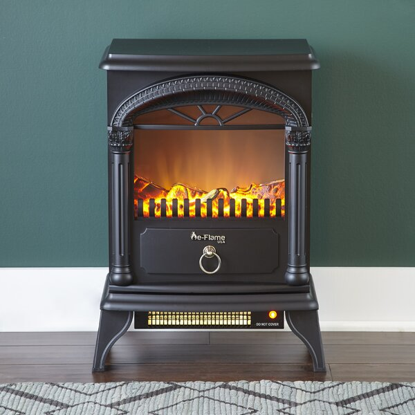 Hamilton 400 sq. ft. Electric Stove by e-Flame USA