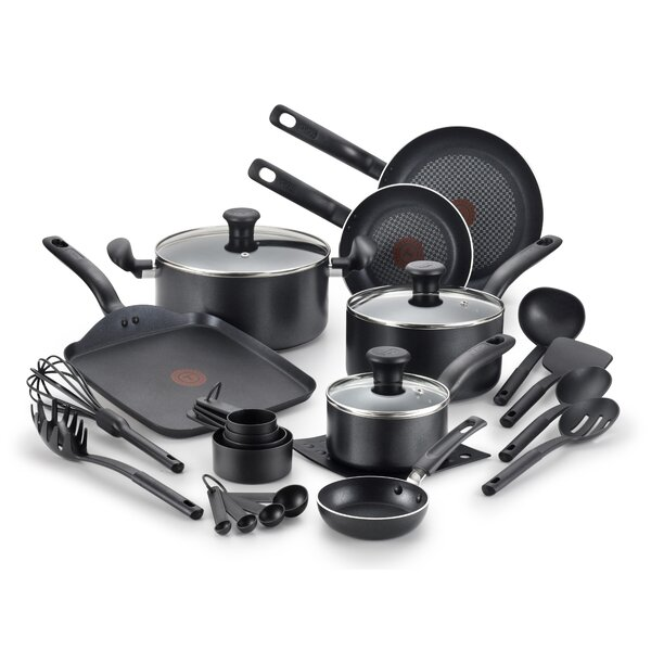 Initiatives 20 Piece Non-Stick Cookware Set by T-fal