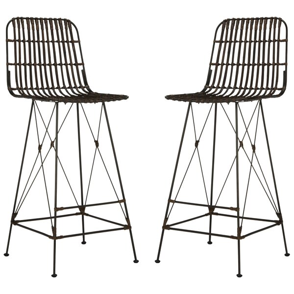 Marleigh 29.5 Bar Stool (Set of 2) by Mistana