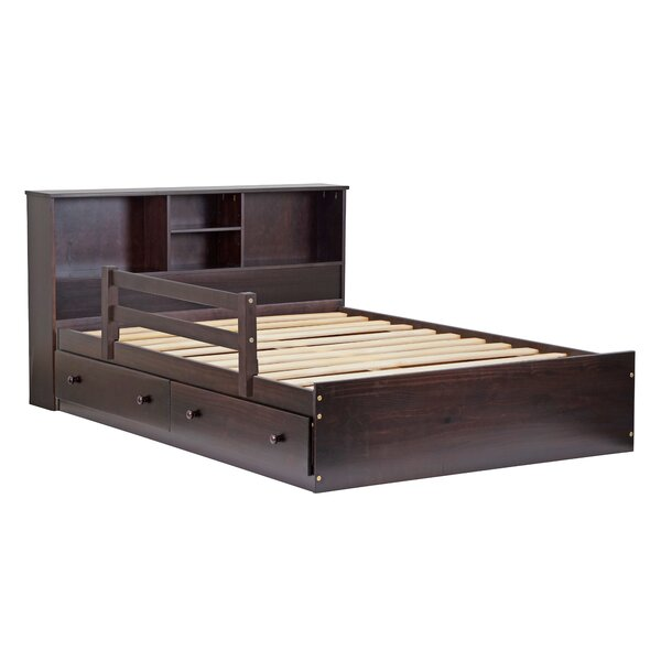 Wales Mate's Bed with Drawers by Charlton Home