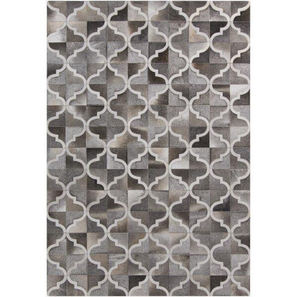 Georgianne Gray Geometric Area Rug by Darby Home Co