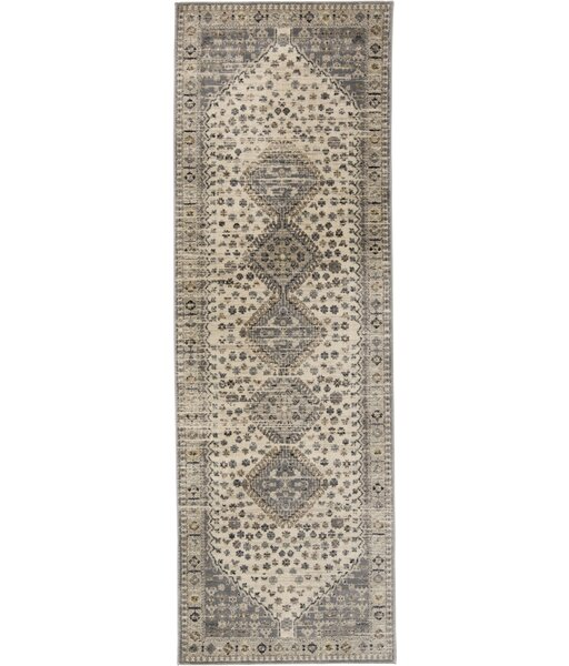 Lexie Beige/Ivory/Gray Area Rug by World Menagerie