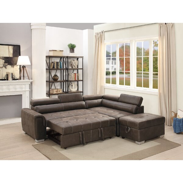 Marrero Sleeper Sectional With Ottoman by Latitude Run