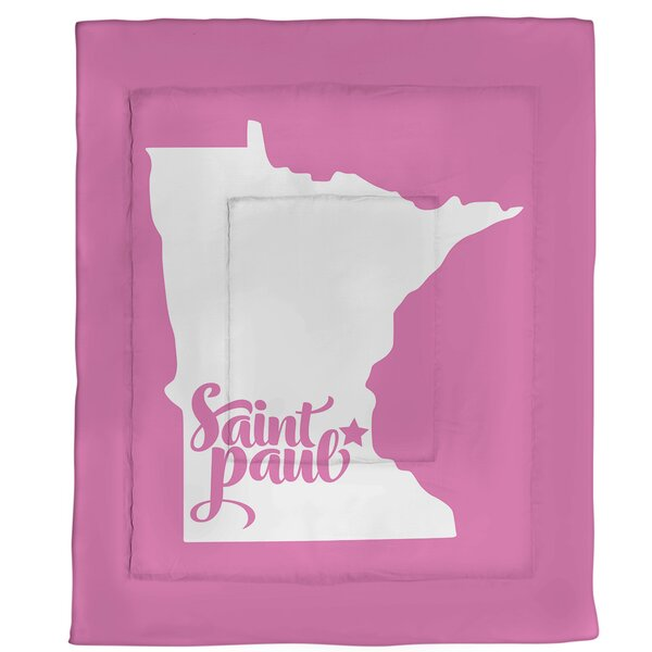 Saint Paul Minnesota Single Reversible Comforter