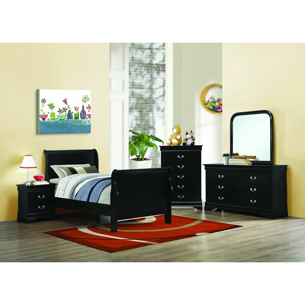 Daniyal Sleigh Configurable Bedroom Set by Red Barrel Studio