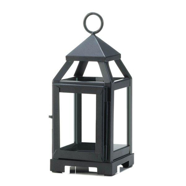 Mini Contemporary Iron Lantern by Charlton Home