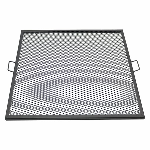 X-Marks 37.5 Square Fire Pit Cooking Grate by Wild