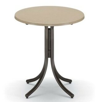 Werzalit Round Bar Table by Telescope Casual