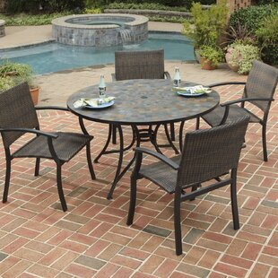 Sequoyah Large 5 Piece Dining Set By Loon Peak