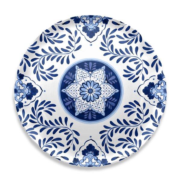 Eldert Round Melamine Platter by Bloomsbury Market