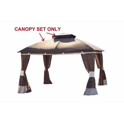 Sunjoy Replacement Canopy Set for L-GZ215PST-4B 10X12 Healdsburg Gazebo -  110109207