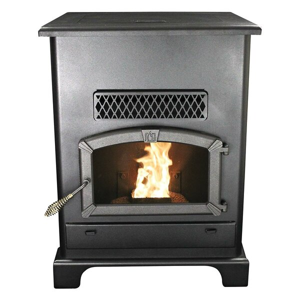 LARGE PELLET HEATER WITH ASH PAN by United States Stove Company
