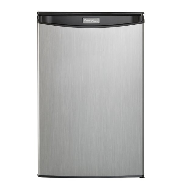 Silhouette 4.4 cu. ft. Compact Refrigerator by Dan