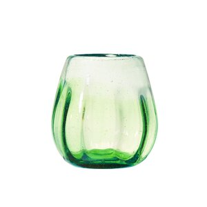 Rosa Optic Ombre 16 oz. Stemless Wine Glass (Set of 4)