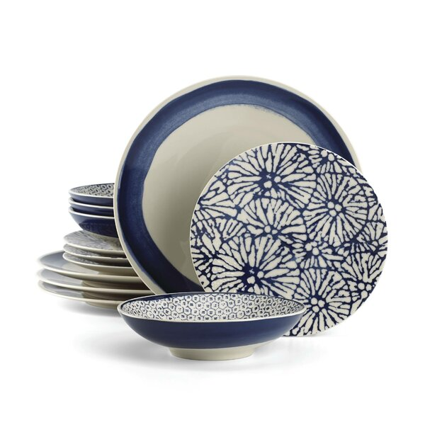 Market Place Indigo 12 Piece Set, Service for 4 by Lenox