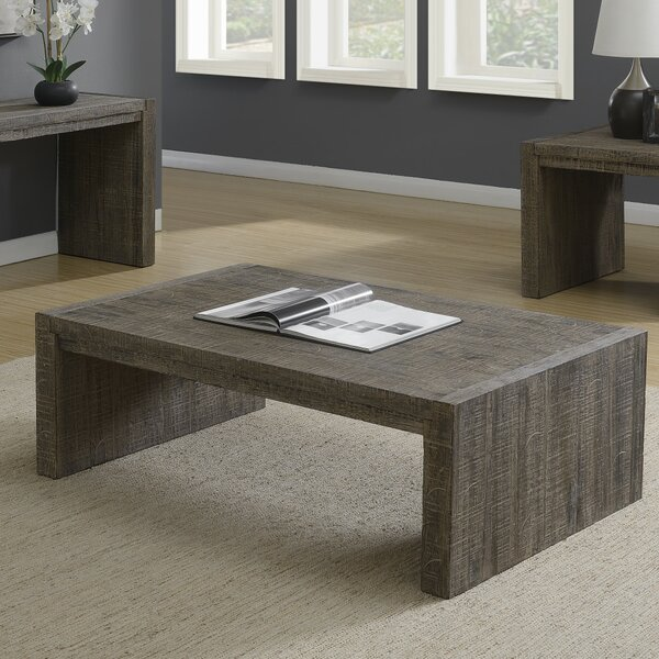 Stackpole Coffee Table by Millwood Pines Millwood Pines