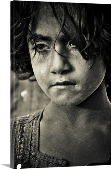 Sorrow by Arash Karimi Photographic Print on Canvas by Canvas On Demand