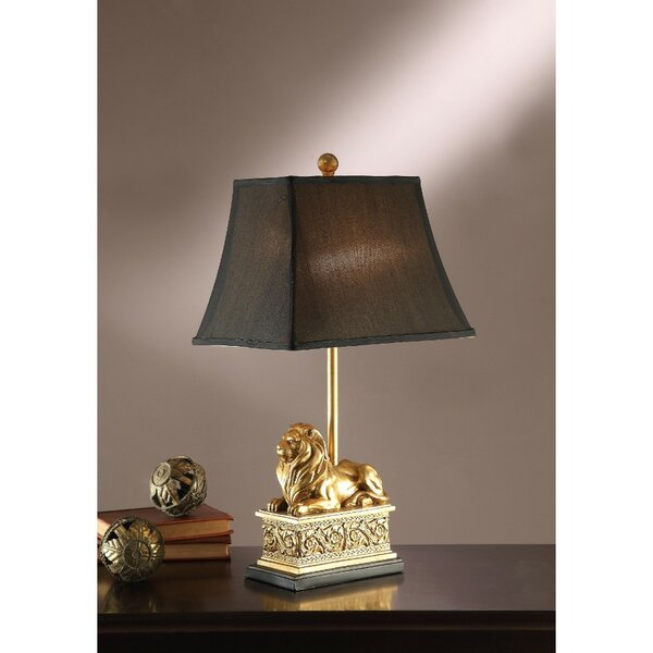 Cresley Polyresin 24 Table Lamp (Set of 2) by World Menagerie
