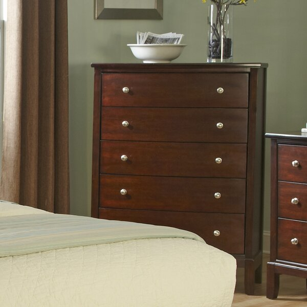 Denver 5 Drawer Chest by Wildon Home®