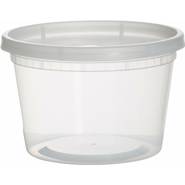 Ehrenfeld Plastic 16 oz. Food Storage Container with Lids (Set of 36) by Rebrilliant