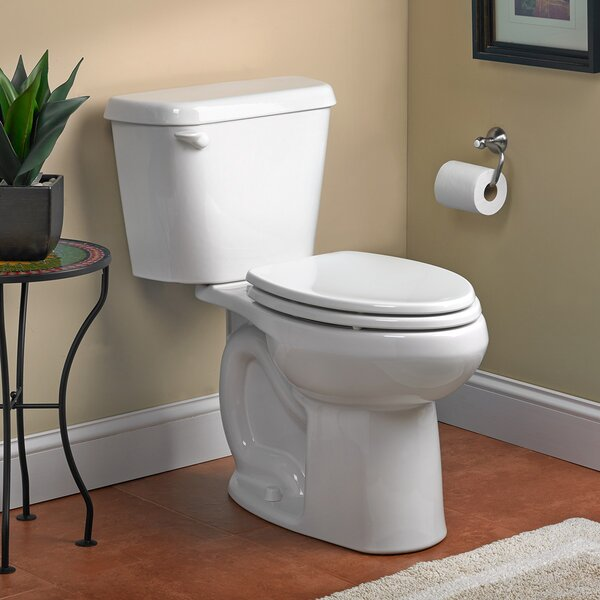 Colony HET Right Height 1.28 GPF Elongated Two-Piece Toilet by American Standard
