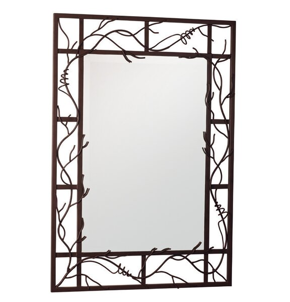 Vine Accent Mirror by Kalco