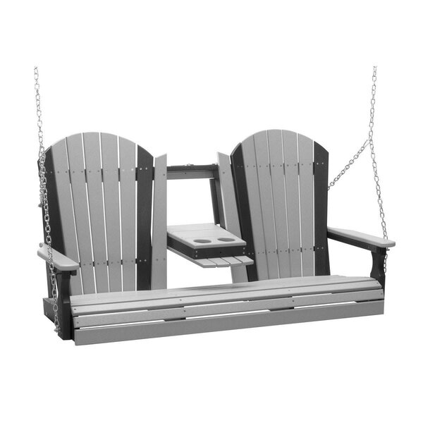 Rosalin Adirondack Porch Swing by Ebern Designs