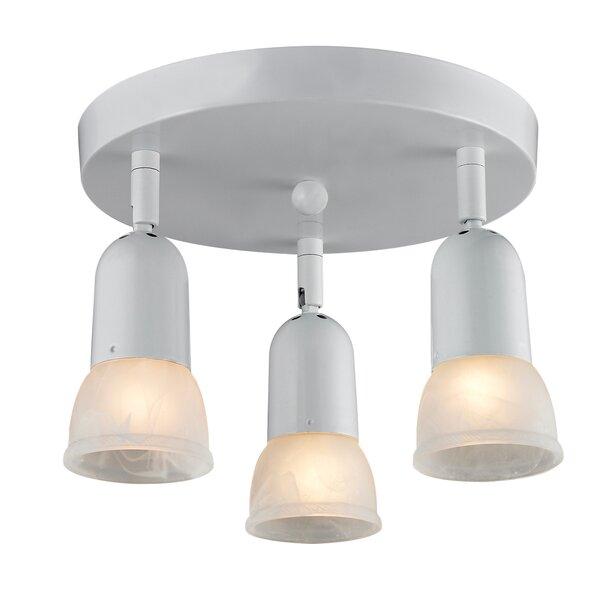 Moises 3 Light Directional Spotlight By Ebern Designs.