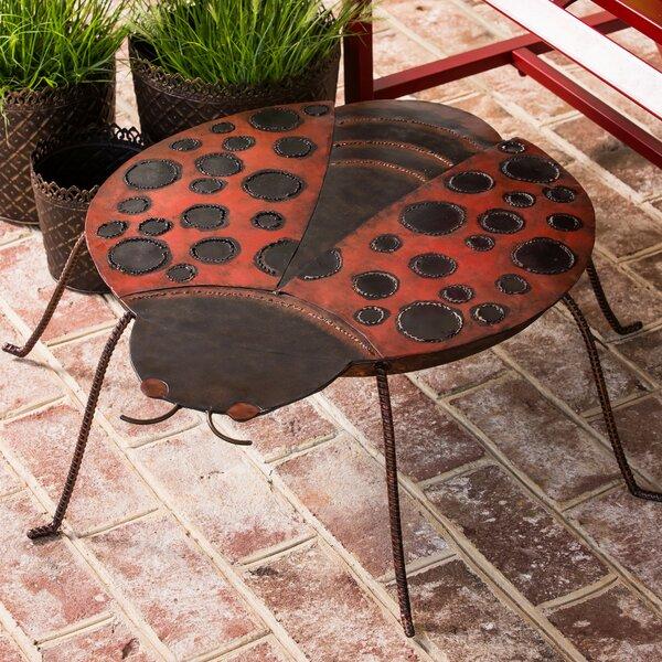 Glea Metal Side Table by Bloomsbury Market