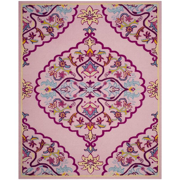 Blokzijl Hand-Tufted Pink Area Rug by Bungalow Rose