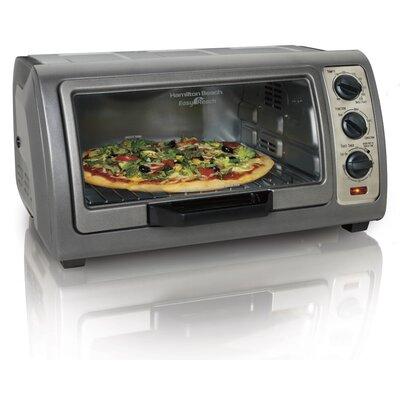 0.6 Cu. Ft. Easy Reach Toaster Oven with Convection Hamilton Beach -  31126D