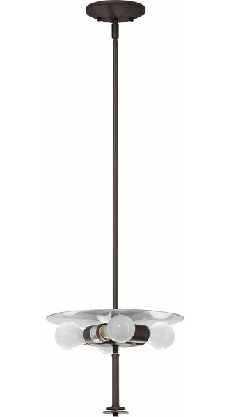 Esprit 4-Light Sputnik Chandelier by Volume Lighting
