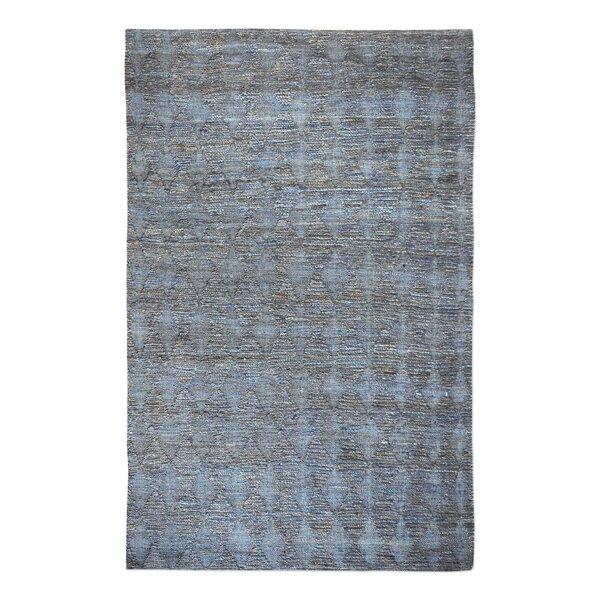 Rachel Hand-Woven Slate Area Rug by Gracie Oaks