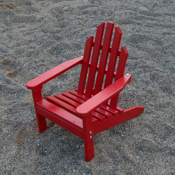 Kiddie Wood Adirondack Chair by Prairie Leisure Design
