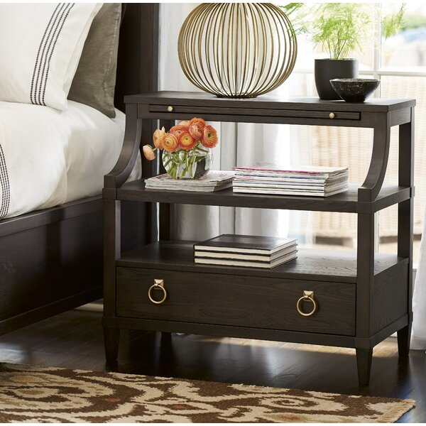 Garton 1 Drawer Nightstand by Everly Quinn