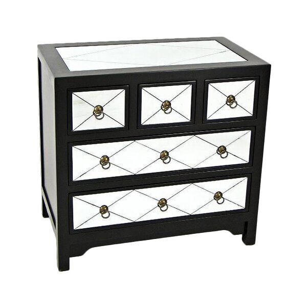 Hannes 5 Drawer Accent chest by House of Hampton