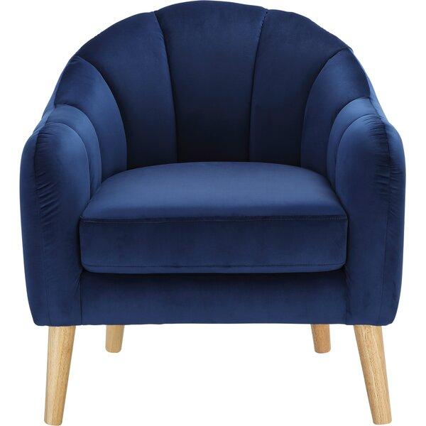 Levine Barrel Chair By Mercer41 Fresh