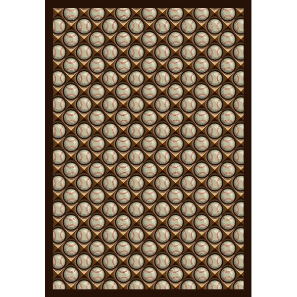 Brown/Beige Area Rug by The Conestoga Trading Co.